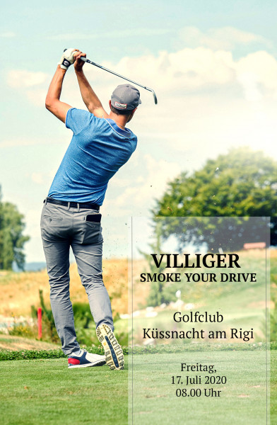 VILLIGER SMOKE YOUR DRIVE 2020
