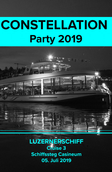 CONSTELLATION Party auf dem Luzernerschiff